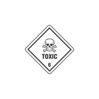 Toxic 6.1Small x500 labels