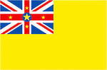 Niue Flag Sticker Pack