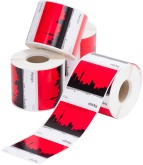 Flexographic label printing